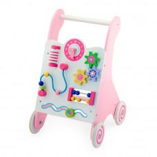 Ходунки Viga Toys розовые (50178)