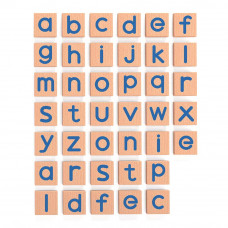 Учебная игра Viga Toys Английский алфавит строчные буквы 40 элементов (50590)