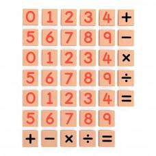 Учебная игра Viga Toys Цифры и знаки 40 элементов (50591)