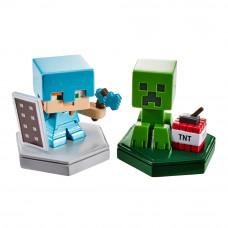 Набор фигурок Minecraft Защитник Алекс и рептилия (GKT41/GKT43)