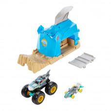 Пускатель Hot Wheels Monster trucks Возмездие акулы (GKY01/GKY03)