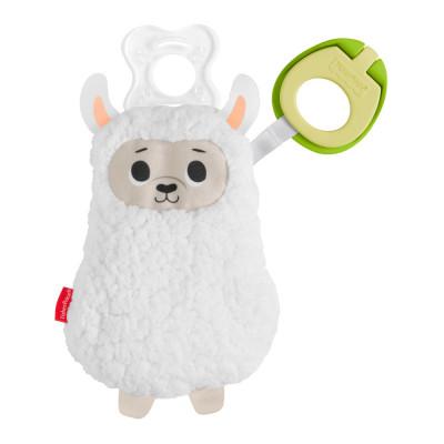 Игрушка-держатель для соски Fisher-Price лама (GNP46/GKC47)