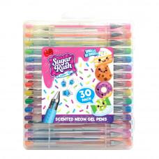 Набор гелевых ручек Scentos Sugar Rush Неон ароматный 30 шт (31040)