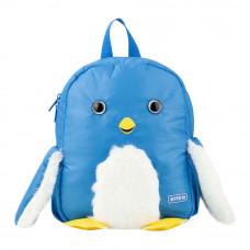 Рюкзак дошкольный Kite Пингвин 563-2 голубой (K20-563XS-2)