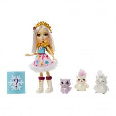 Кукольный набор Enchantimals Семья сов с сюрпризом (GJX43/GJX46)