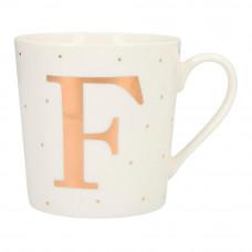 Чашка Top Model с буквой F 300 мл фарфоровая (045909/30)