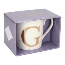 Чашка Top Model с буквой G 300 мл фарфоровая (045909/31)