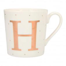 Чашка Top Model с буквой H 300 мл фарфоровая (045909/32)