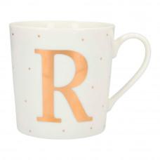Чашка Top Model с буквой R 300 мл фарфоровая (045909/40)