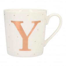 Чашка Top Model с буквой Y 300 мл фарфоровая (045909/44)