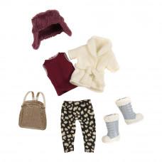 Одежда для куклы Lori Теплый жакет с шапкой (LO30006Z)