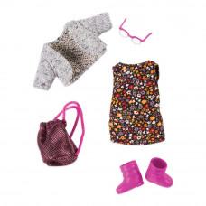 Одежда для куклы Lori Платье в цветочек (LO30021Z)