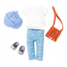 Одежда для куклы Lori Стиль кежуал с рыжей сумкой (LO30022Z)