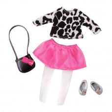 Одежда для куклы Lori Сенсационно стильная с розовой юбкой (LO30024Z)