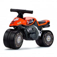 Беговел Falk Мотобайк Dakar оранжевый (406D)