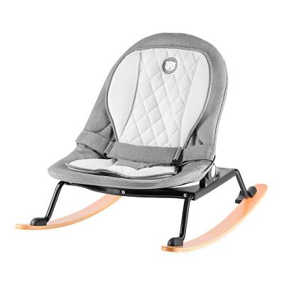 Кресло-качалка Lionelo Rosa серо-черное до 9 кг (LO.RS01)