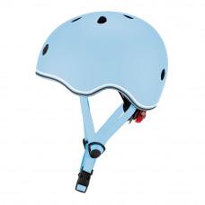 Защитный шлем Globber Go Up Lights синий 45-51 см с фонариком (506-200)