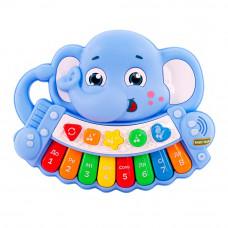 Музыкальная игрушка Baby Team Слоник-пианино на украинском (8630)