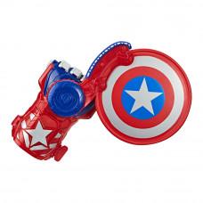 Игрушечный бластер на руку Avengers Капитан Америка (E7375)