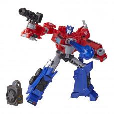 Игровой набор Transformers Cyberverse Оптимус Прайм 12 см (E7053/E7096)