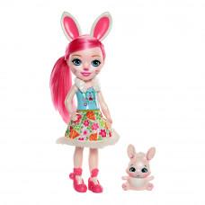 Набор Enchantimals Большие друзья Кролик Бри и Твист (FRH51/FRH52)