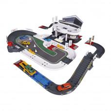 Игровой набор Majorette Creatix Испытательный центр Порше с 5 машинками (2050029)