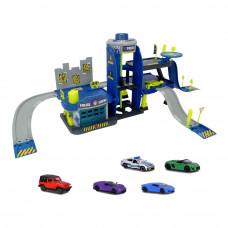 Игровой набор Majorette Creatix Полиция с 5 машинками (2050030)