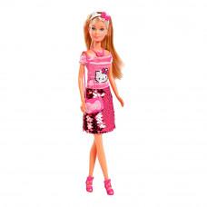 Кукла Steffi & Evi Love Hello Kitty юбка с пайетками (9283010)