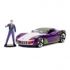 Машина Jada Шевроле Корвет Стингрей Концепт с фигуркой Джокера 1:24 (253255020)