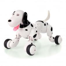 Игрушка-робот Happy Cow Собака на радиоуправлении бело-черная (HC-777-338b)