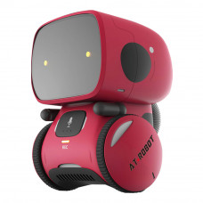 Интерактивный робот AT-Robot красный на украинском (AT001-01-UKR)