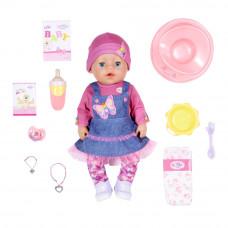 Кукла Baby Born Нежные объятия Джинсовый лук с аксессуарами 43 см (831298)