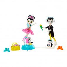 Кукольный набор Enchantimals Пингвины-фигуристы (GJX49)