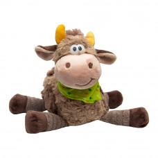 Мягкая игрушка Devilon Бычок бежевый 22 см (394301)