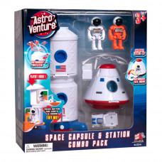 Игровой набор Astro venture Космическая станция и капсула (63141)