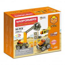 Магнитный конструктор Magformers Строительство 50 элементов (717004)