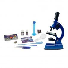 Набор для опытов Eastcolight Микроскоп делюкс синий (ES90101P)