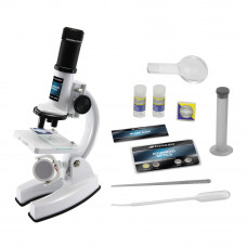 Набор для опытов Eastcolight Микроскоп делюкс белый (ES8013)