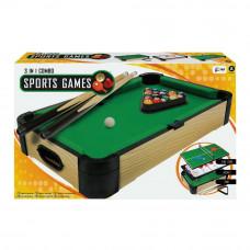 Настольная игра Merchant ambassador Спорт 3 в 1 50 см (MA3154_20)