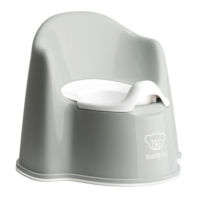 Горшок-кресло BabyBjorn Potty chair серый (55225)