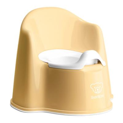 Горшок-кресло BabyBjorn Potty chair желтый (55266)