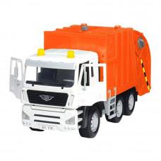 Машинка Driven Standard Мусоровоз оранжевый (WH1100Z)