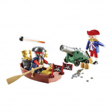 Конструктор Playmobil Pirates Охотник за сокровищами в кейсе (9102)