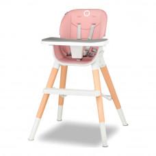 Стульчик для кормления Lionelo Mona 4 в 1 розовый (5902581659118)