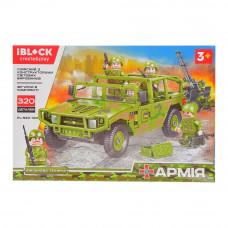 Конструктор IBLOCK Армия Hummer с зенитной установкой (PL-920-100)
