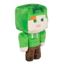 Плюшевая игрушка JINX Minecraft Happy explorer Алекс в костюме пресмыкающегося (JINX-10932)