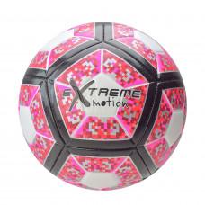 Мяч футбольный Shantou Jinxing Extreme motion размер 5 розовый (FB190832-1)
