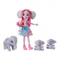 Игровой набор Enchantimals Семья слоненка Эсмеральды (GTM30)