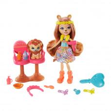 Кукольный набор Enchantimals Стильный салон (GTM29)