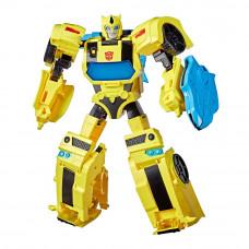 Игровой набор Transformers Кибервселенная Battle call officer Бамблби (E8228/E8381)